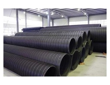 HDPE塑钢缠绕排水管报价生产