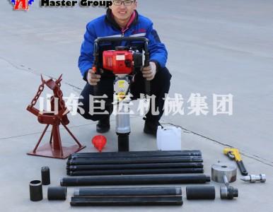 QTZ-3便携式原状土取土钻机20米取样采集器操作简单