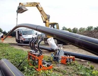 供应高韧性 黑色PE100燃气管