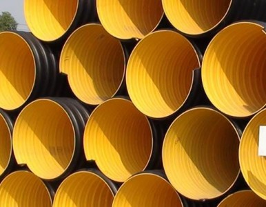 HDPE钢带增强缠绕排水管供应