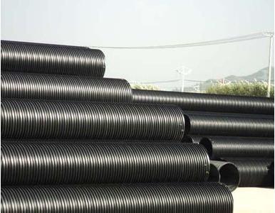 承插式HDPE塑钢缠绕排水管