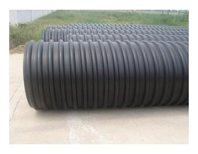 HDPE钢带增强缠绕排水管