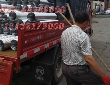豪越 大量现货 供应海南 文昌 预埋件镀锌波纹管厂家