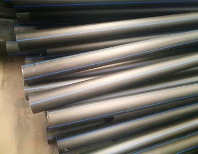 专业生产厂家高密度聚乙烯PE给水管 优质建筑管材
