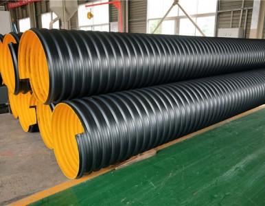 河南孟津钢带增强pe螺旋波纹管厂家