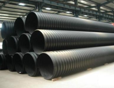 排水、排污钢带增强聚乙烯螺旋波纹管特性