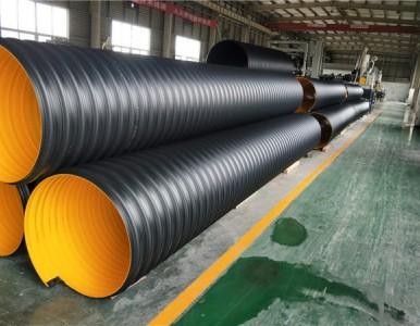 HDPE钢带波纹管的生产工艺和连接方式