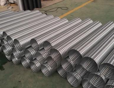 豪越 大量现货 供应浙江 温州 预应力金属波纹管价格