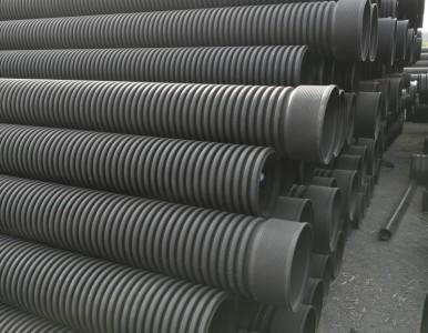 PE双壁波纹管 DN200-800mm 新颐通管业