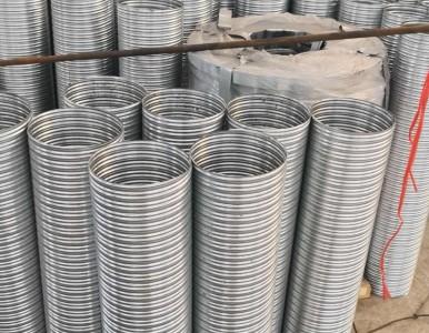 豪越 大量现货 供应全国各地 预埋件镀锌波纹管价格