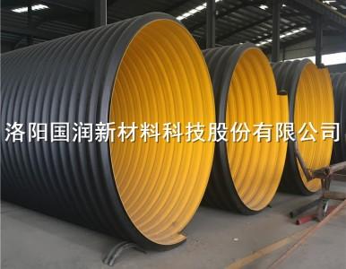 大口径钢带管 工业排污钢带波纹管洛阳生产厂家供应