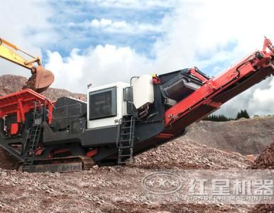 红星一体式建筑垃圾移动式破碎机有的不只是品质LYJ72