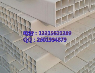 湘潭九孔格栅管PVC九孔格栅管价格