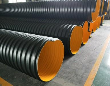 地下排污波纹管 钢带增强波纹管