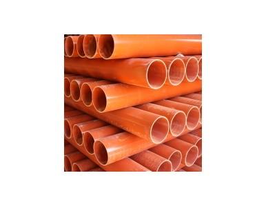 宁夏电力管厂家直销承插式橘红色cpvc电力管规格齐全