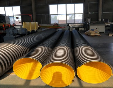 鹤壁市钢带缠绕波纹管厂家