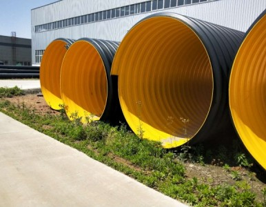 HDPE钢带波纹管   螺旋增强钢带波纹管