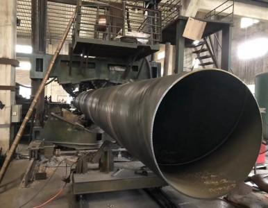 广东生产螺旋管钢管桩的加工费是多少钱一吨