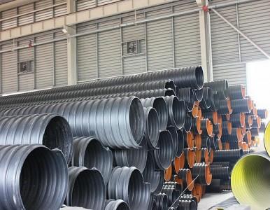 汝阳县2600钢带缠绕波纹雨污管