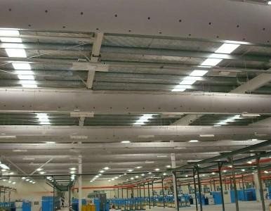 布袋风管系统在综合性能上全面领先布风管厂家
