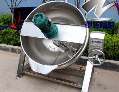 蒸汽夹层锅 节能蒸煮锅 小型夹层锅