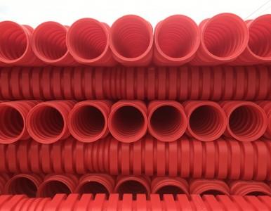 湖南长沙康命源双臂波纹管排水管HDPE双壁波纹管商家