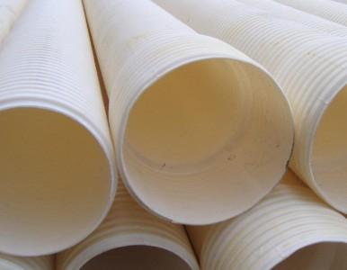 湖南长沙PVC双壁波纹管白色排污管dn110安装方式