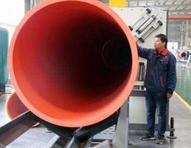 新型隧道逃生管-超高分子逃生管