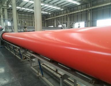 玉林DN800钢制逃生管道隧道施工应用