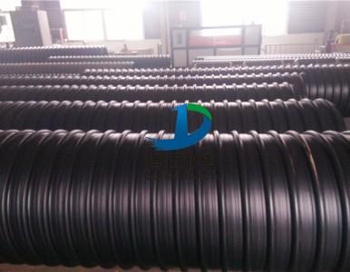 河南焦作600螺旋波纹管hdpe钢带增强