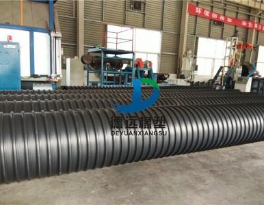 洛阳栾川DN500SN12.5污水排污管道波纹管厂家