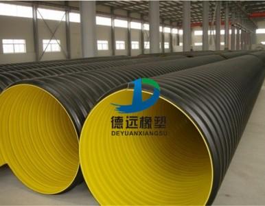 洛阳宜阳DN600SN8hdpe钢带增强波纹管厂家
