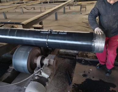甘肃燃气管道用L360国标螺旋管,燃气管道加强级3pe防腐