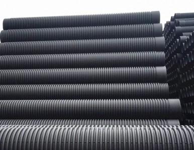 浅谈湖南桃江HDPE双壁波纹管PE排污管的施工方法步骤