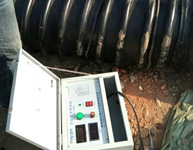 HDPE增强缠绕B型管克拉管热熔焊接电热熔焊机