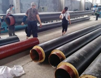 河北保温钢管好厂家 ,发泡聚氨酯直埋保温钢管 沧州市