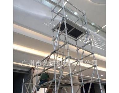 走廊、过道、阳台搭建铝合金悬飘架