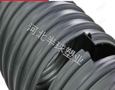 钢带增强螺旋管 高速公路钢带增强螺旋波纹管 克拉管