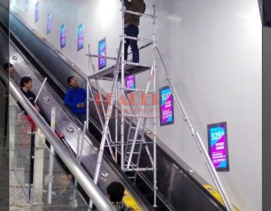 铝制手脚架 铝合金工作架 电梯/扶梯/楼道台阶上可搭建工作用