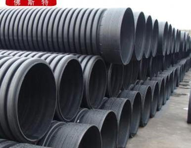 北京顺义HDPE双壁波纹管排水排污管