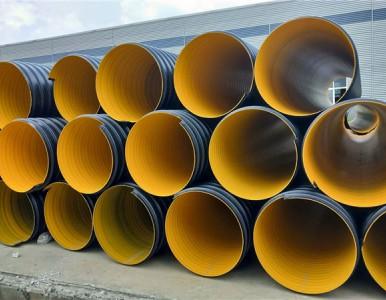 高强度钢带管 大口径钢带波纹管