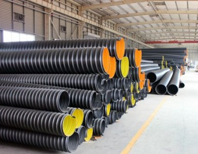 耐腐蚀钢带波纹管 排污钢带增强螺旋波纹管