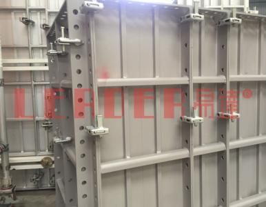 千呼万唤始出来!广州艺达机械隆重推出销钉/夹扣通用铝模板系统