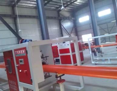 mpp新型电力电缆保护管生产线
