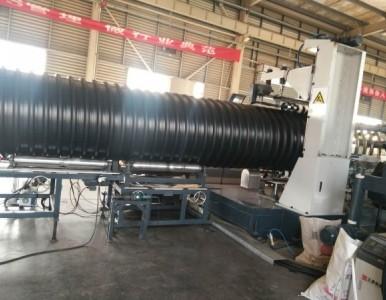 排污钢带波纹管,大口径增强聚乙烯螺旋波纹管