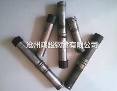 现货昭通50*1.8钳压式声测管 厂价供应螺旋式声测管
