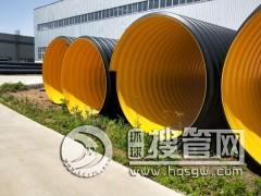 钢带波纹管 钢带增强聚乙烯波纹管