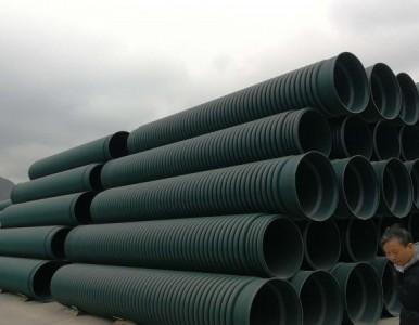 湖南株洲永州HDPE双壁波纹管、中空壁管、螺旋波纹管供应