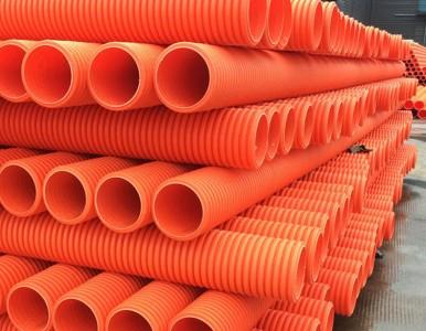 上海MPP双壁波纹管 MPP平壁波纹管生产厂家