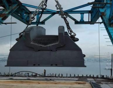 江苏 最大桥梁铸钢件 生产厂家  索鞍索夹制造厂